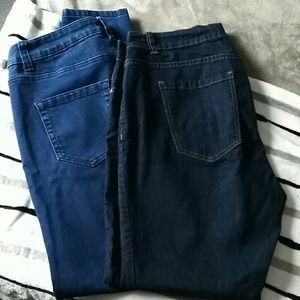 Forever 21 plus size 14 skinny jeans